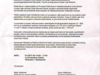 Etelä-Savon maakuntaliitto pyrkii estämään norpansuojeluasetukset